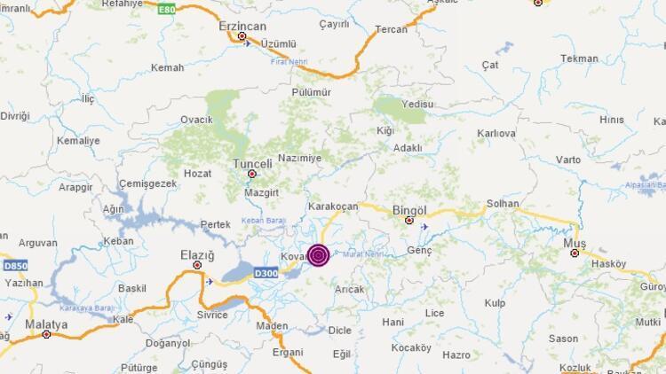 Son dakika deprem haberi: Elazığ'da 20:24'te deprem meydana geldi