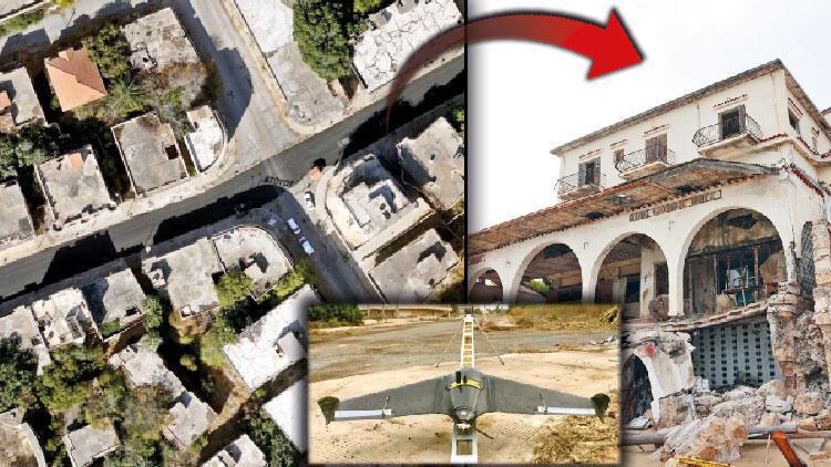 Maraş'ın haritasını mini İHA çıkarıyor