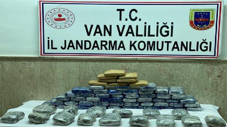 Van'da TIR'da 44 kilo uyuşturucu ele geçirildi