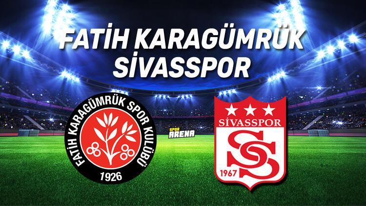 Fatih Karagümrük Sivasspor maçı saat kaçta, hangi kanalda?