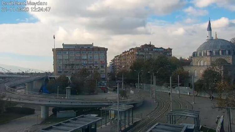 Kocaeli'de cadde ve sokaklar boş kaldı