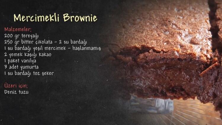 Mercimekli Brownie nasıl yapılır? İşte, Mercimekli Brownie tarifi