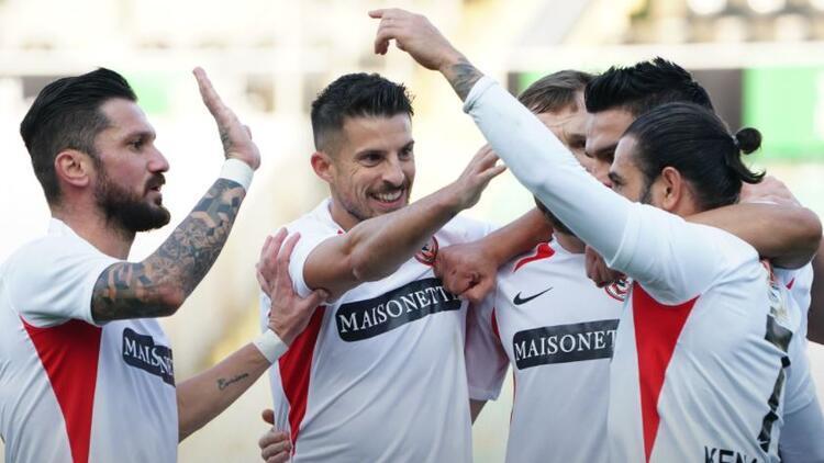 Denizlispor 0-1 Gaziantep FK (Maç özeti)