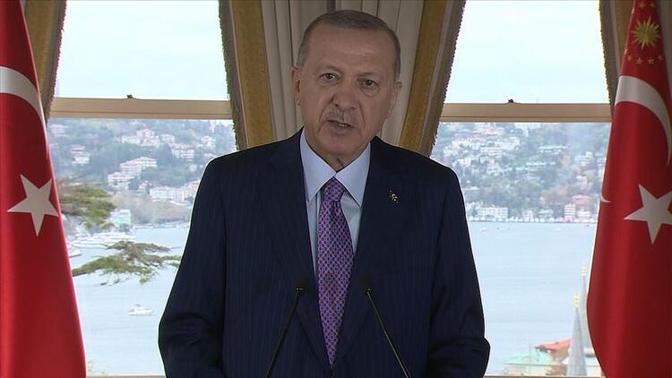 Cumhurbaşkanı Erdoğan'dan Doğu Akdeniz mesajı! 'Diyalog ve diplomasi kapımızı kapatmadık'