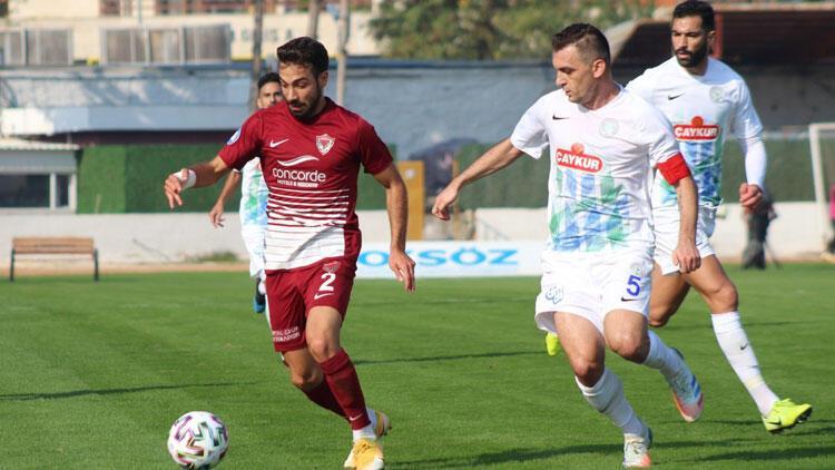 Hatayspor 2-2 Çaykur Rizespor / Maçın özeti ve golleri