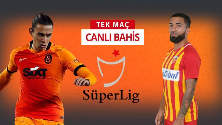 Galatasaray'da 6 eksik, 3 şüpheli! Kayserispor karşısında galibiyetlerine iddaa'da...