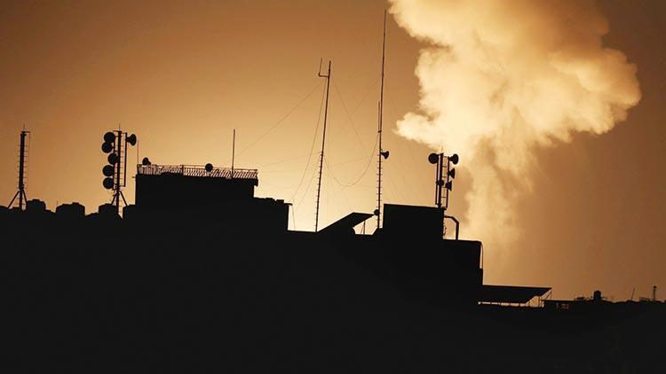 İsrail ordusu Hamas hedeflerini vurdu