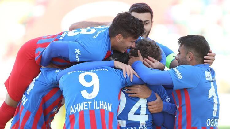 Altınordu, tarihinde ilk kez TFF 1. Lig'in zirvesinde!
