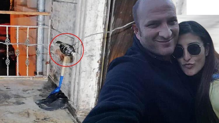 Ayrılmak isteyen kadının kapısının önüne bomba düzeneği kurdu