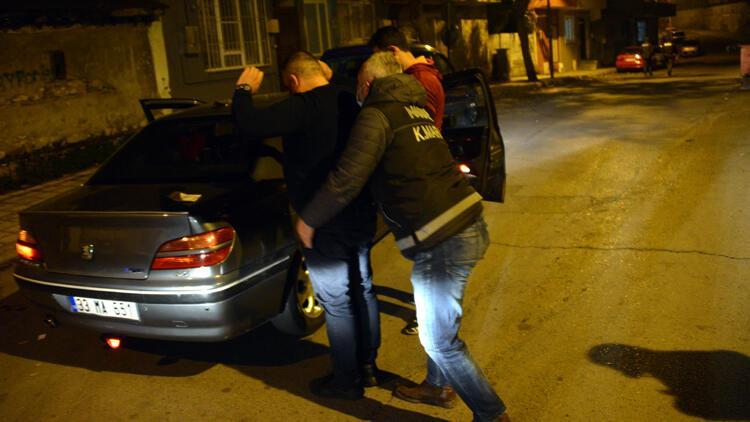 Kahramanmaraş'ta aranan 6 şüpheli yakalandı