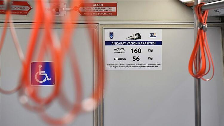Ankara'da koronavirüs tedbirleri kapsamında ulaşıma yeni düzenleme