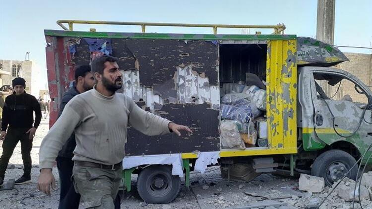 Son dakika... El Bab'da bomba yüklü araç patladı