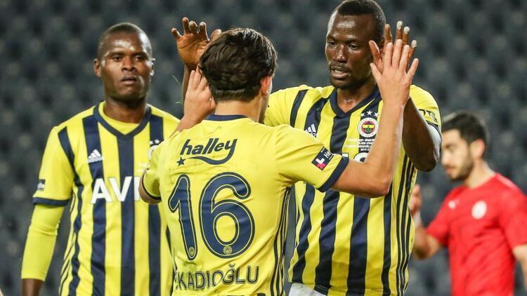 Fenerbahçe 4-0 Sivas Belediyespor (Maçın özeti ve golleri)