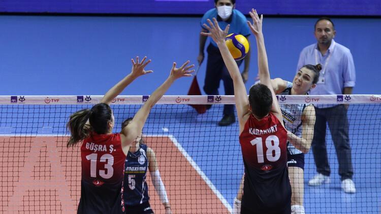 Kadınlar Kupa Voley | Türk Hava Yolları 3-0 Sarıyer Belediyespor