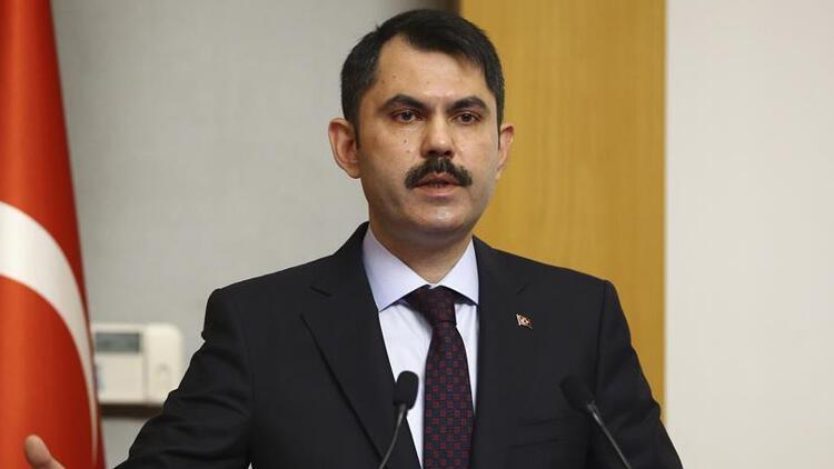 Bakan Kurum müjdeyi verdi: İzmir'de 5 bin konutun projesi hazır