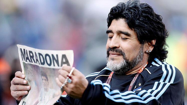TFF'den Maradona için taziye mesajı