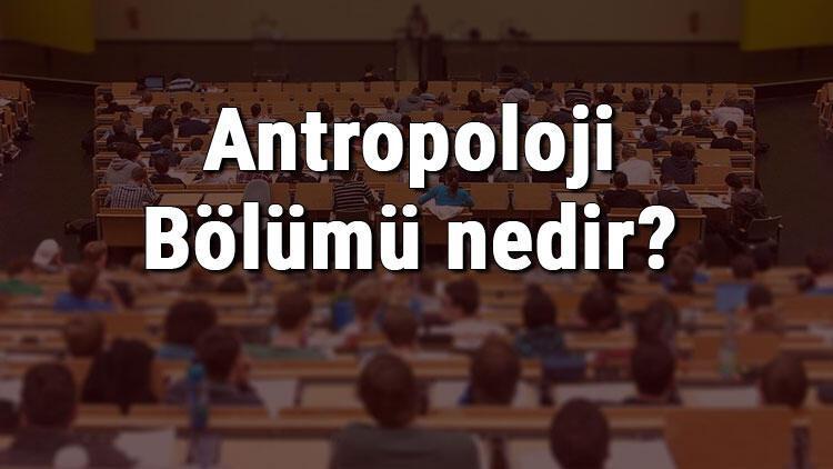 Antropoloji Bölümü nedir ve mezunu ne iş yapar? Bölümü olan üniversiteler, dersleri ve iş imkanları