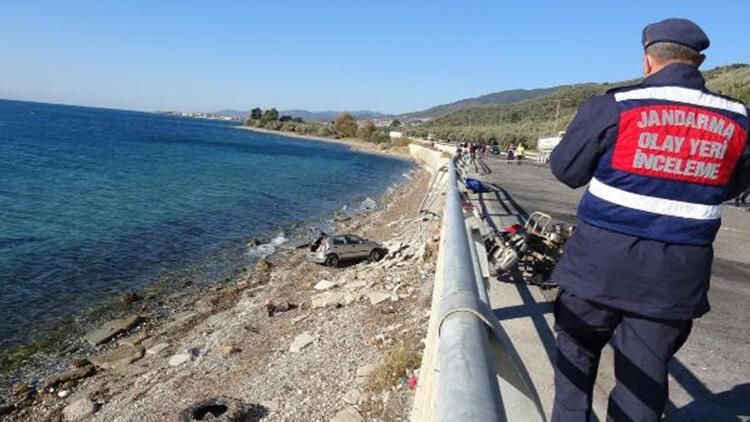 Otomobil, motosiklete çarptı: 1 ölü, 1 yaralı