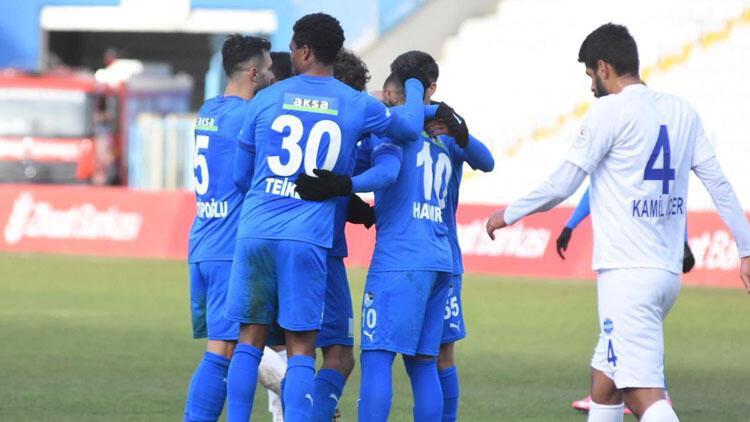 BB Erzurumspor 3-2  Ankara Demirspor / BB Erzurumspor Türkiye Kupası'nda tur atladı
