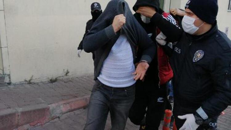Kayseri'de uyuşturucu ticaretine 4 tutuklama