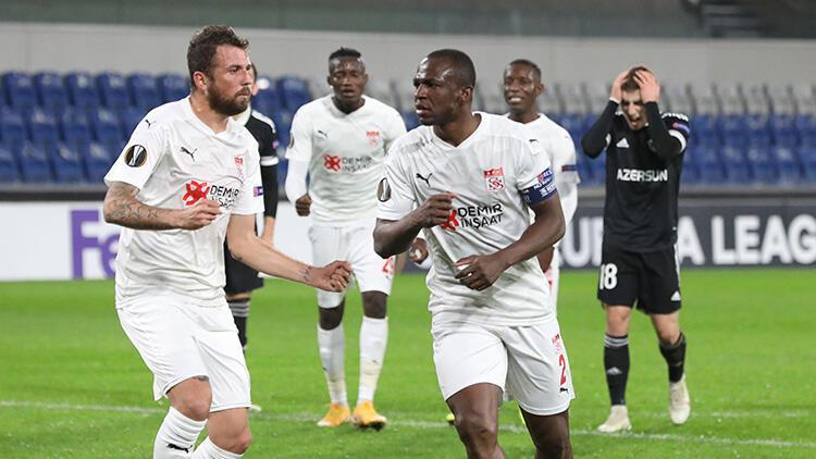 Karabağ 2-3 Sivasspor (Maçın özeti)