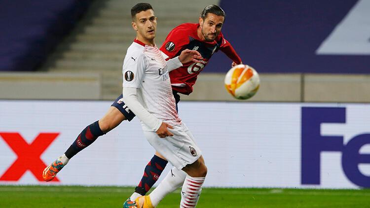 Lille 1 - 1 Milan maç sonucu /Maçın özeti ve golleri