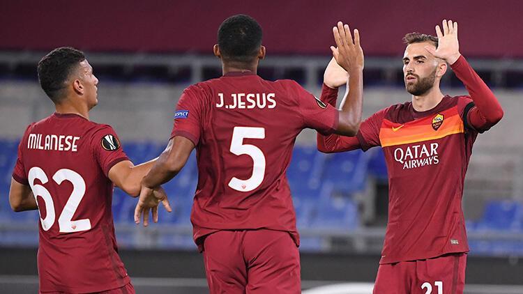 Roma, UEFA Avrupa Ligi'nde gruptan çıkmayı garantiledi