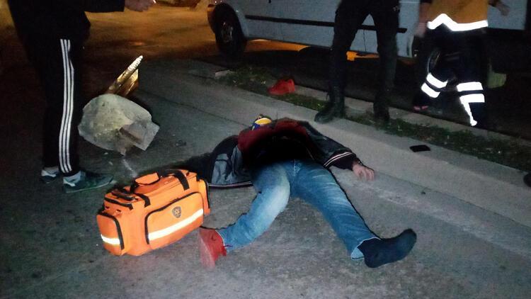 Son dakika... Gece yarısı feci kaza: Alkollü sürücü ağır yaralandı
