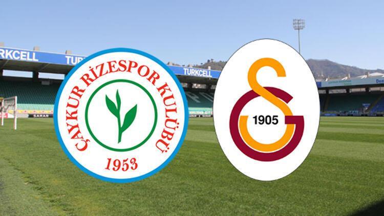 Galatasaray ile Çaykur Rizespor 39. randevuda! 79-80 sezonundan beri...
