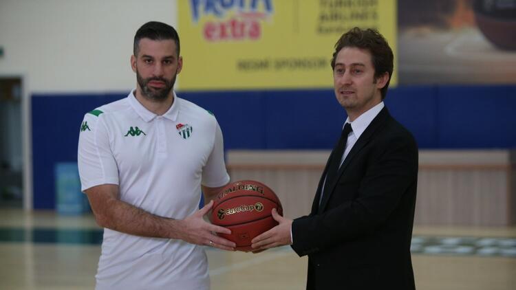 Basketbol haberleri   Frutti Extra Bursaspor'da Alimpijevic imzaladı!
