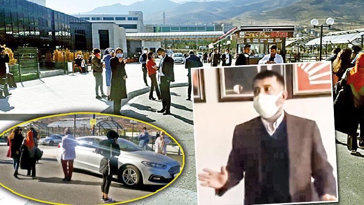 Malatya sarsıldı! CHP'li Ağbaba toplantıda yakalandı: Ahan da deprem oldu...