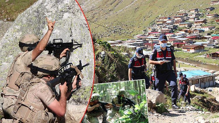 Son dakika haberler: Trabzon'da yaylada alarm! Komandolar operasyonları arttırdı