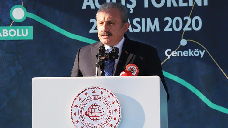 TBMM Başkanı Mustafa Şentop, Tekirdağ-Hayrabolu Yolu Kandamış Kesimi Açılış Töreni'ne katıldı