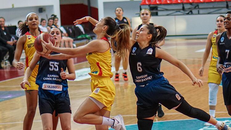 Bellona Kayseri Basketbol 107-54 Samsun Canik Belediyespor