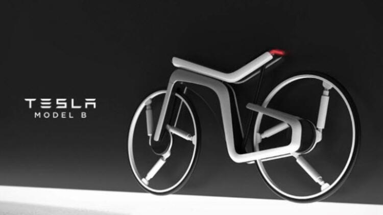Tesla elektrikli bisiklet yapsa nasıl görünürdü?
