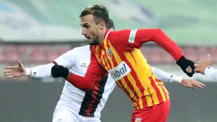 Kayserispor galibiyeti unuttu! 3 puan hasret 5 maça çıktı...