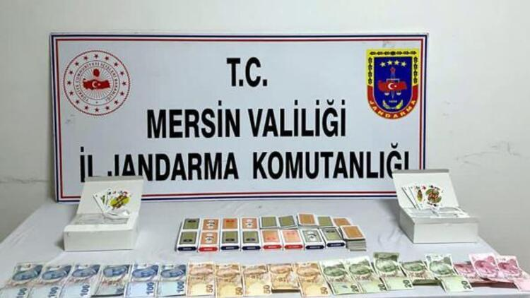 Mersin'de kumar oynarken yakalanan 11 kişiye 79 bin lira ceza