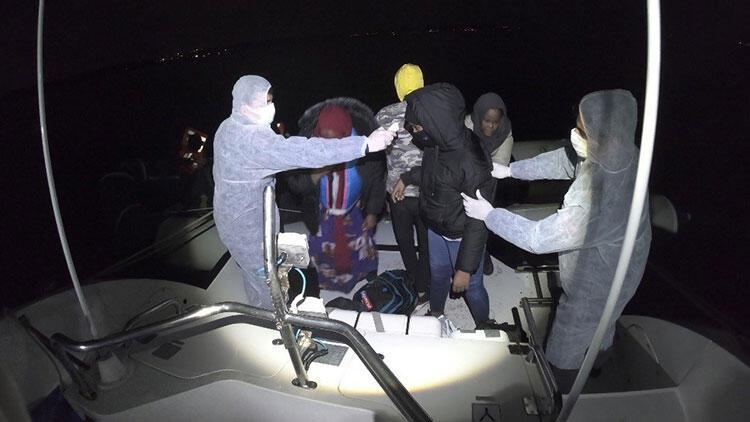 İzmir'de çok sayıda kaçak göçmen kurtarıldı