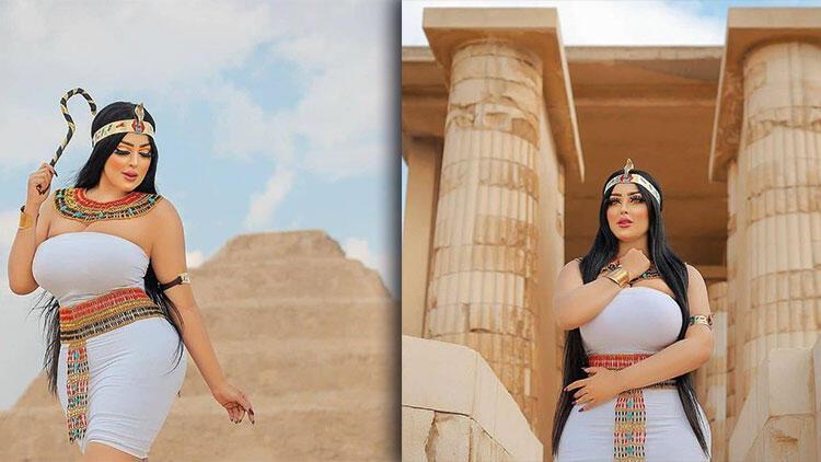 Mısır'da şaşkına çeviren olay! Bu fotoğraflar başına bela açtı