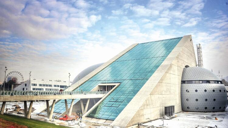194 yıllık CSO'ya yeni bina