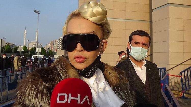 Sisi lakaplı Seyhan Soylu 4 günlük hapsi nedeniyle adliyeye getirildi