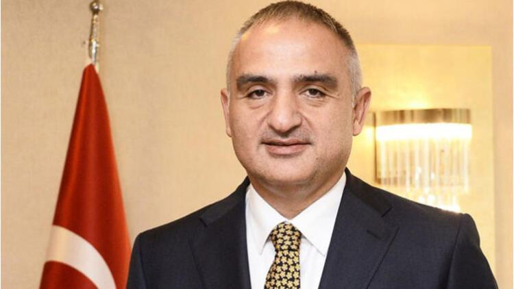 Kültür ve Turizm Bakanı Ersoy:  İnşa edilmiş en büyük yapı