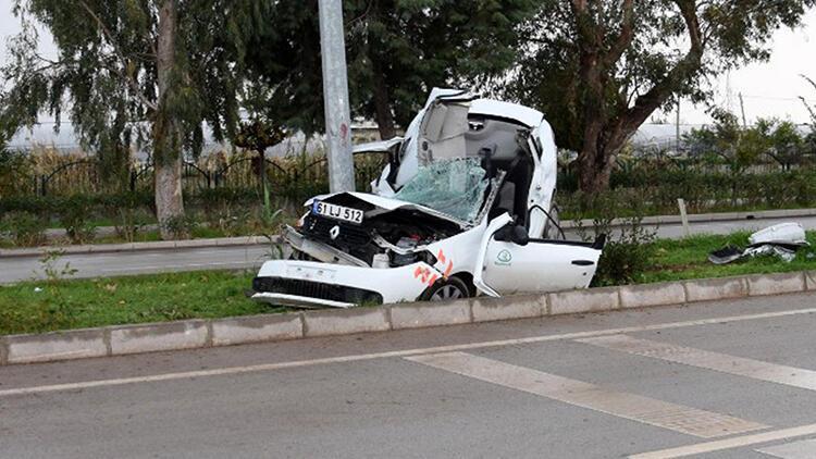 Antalya'da işe giderken geçirdiği kazada hayatını kaybetti