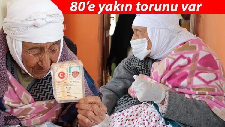 Türkiye'nin en yaşlı kadını olan Emine Baytar hayatını kaybetti!