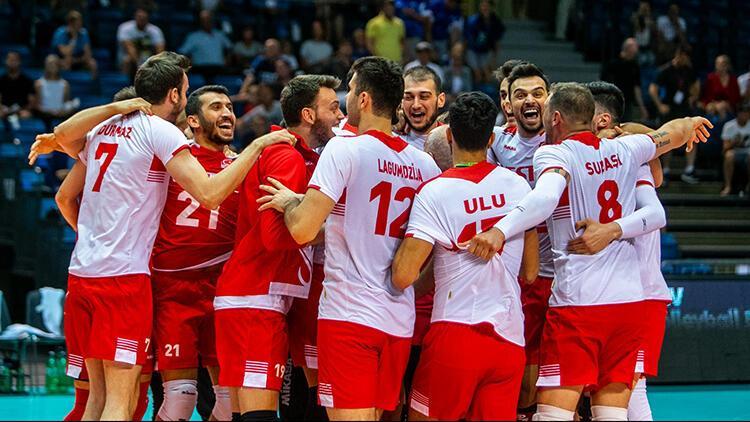 A Milli Erkek Voleybol Takımı, 2021 Avrupa Şampiyonası Elemeleri maçlarını Üsküp'te oynayacak