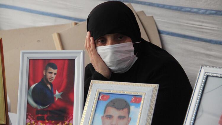 Diyarbakır'da evlat nöbetindeki anne: HDP, oğlumu PKK'ya verdi