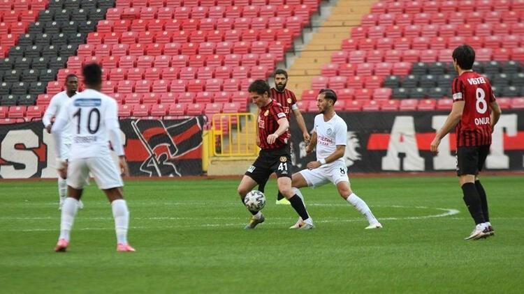 Eskişehirspor: 0 - Tuzlaspor: 2