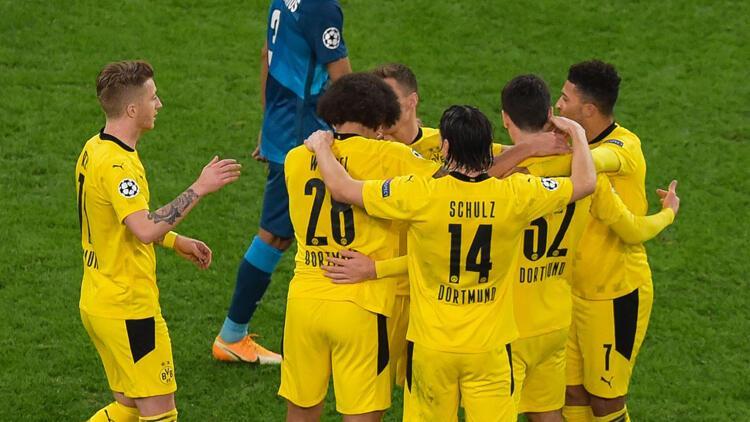 Zenit 1-2 Borussia Dortmund (Maç sonucu ve özeti)