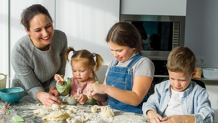 Ev işlerini aile katkısına dönüştürebilirsiniz