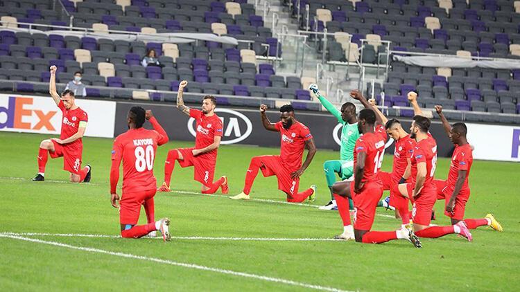 Son Dakika Haberi | Sivasspor'dan Maccabi Tel-Aviv maçında ırkçılığa tepki